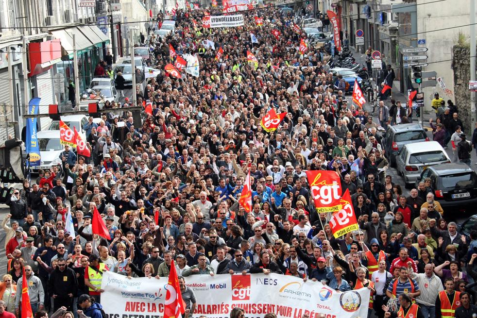 Risultati immagini per scioperi francia